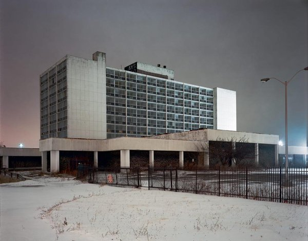 """Brian Ulrich 's """"Days Hotel, 2009"""" is on the cover of  Obsolescence"""
