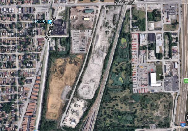 The site via Google Maps