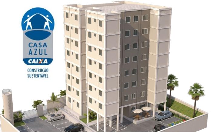 Residencial Ville BarcelonaCliente: Precon EngenhariaServiço: Certificação Selo Casa Azul da CEF nível Prata. - Primeiro Projeto Minha Casa Minha Vida certificado no Brasil