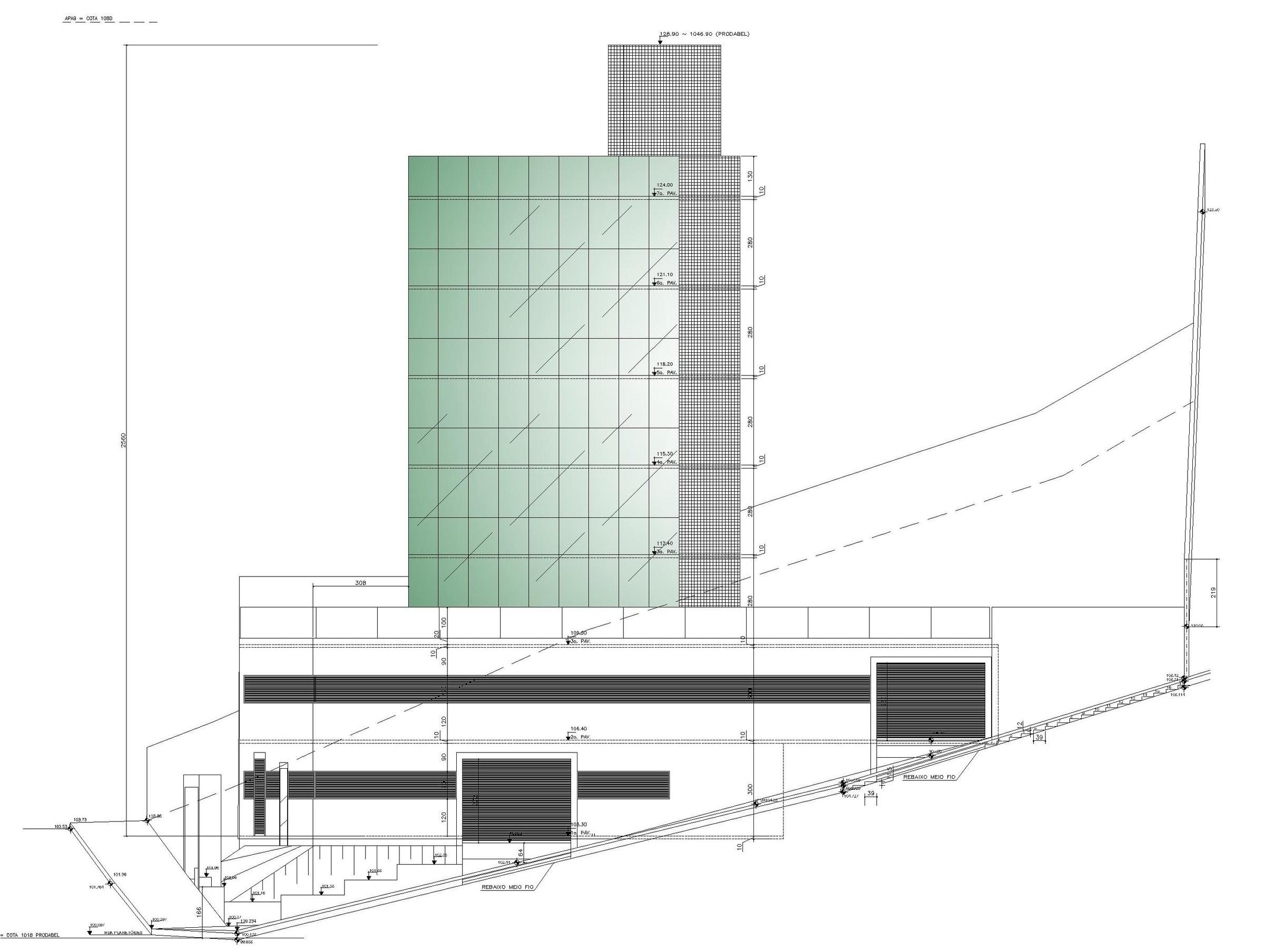 Edifício Comercial Sta LuciaCliente: Construtora APOServiço: Certificação PBE Edifica PROCEL RTQ-C -