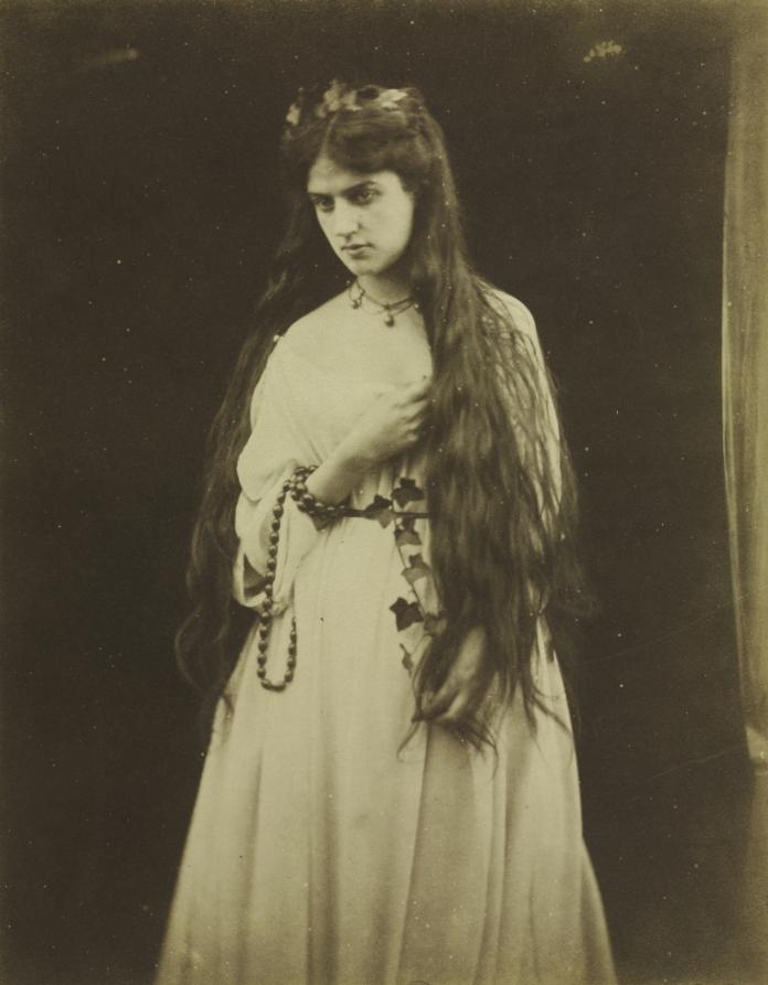 Mnemosyne (Marie Spartali, 1844-1927),1868, http://www.clevelandart.org/art/1974.52