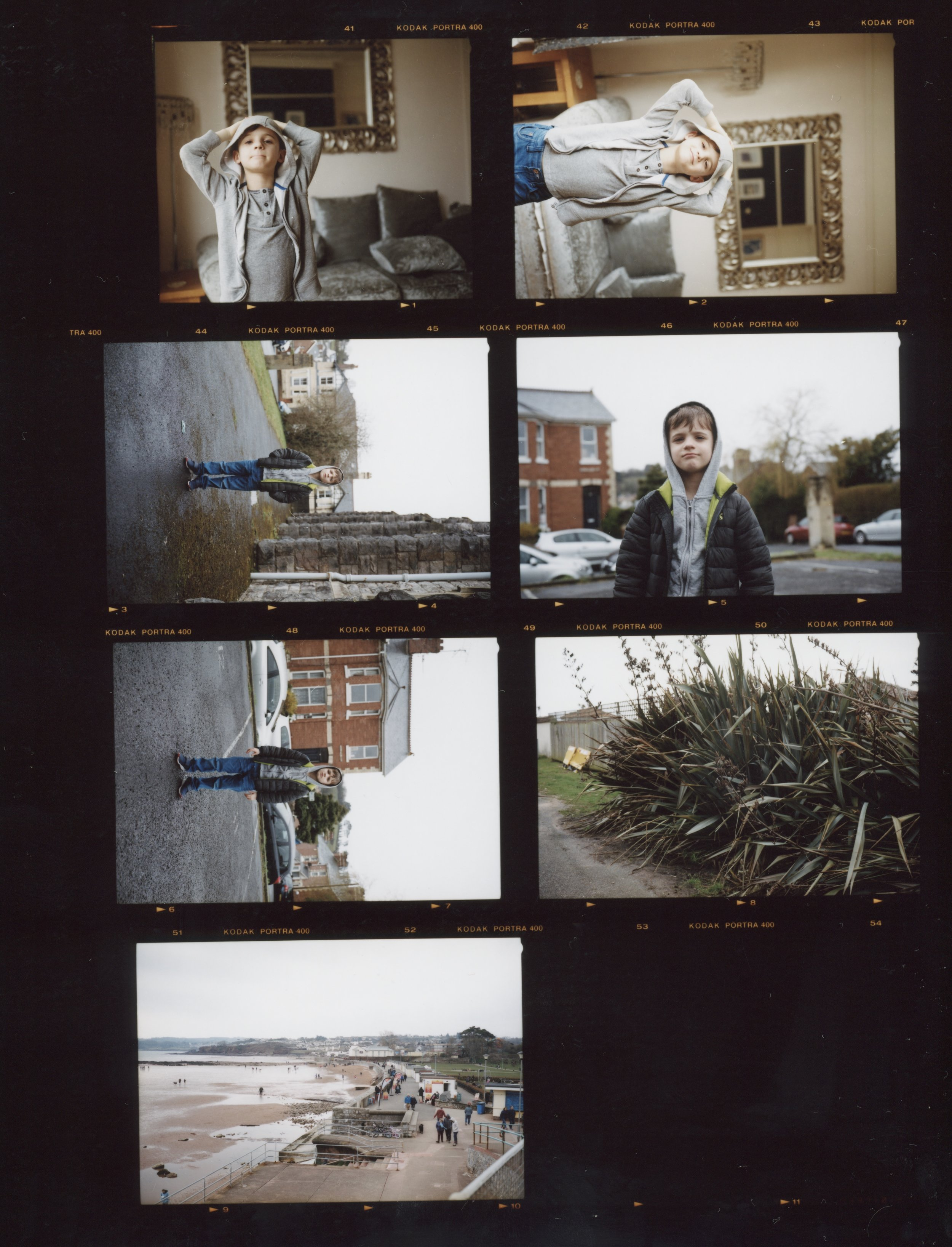 Contact Sheet #4, Anthony Prothero, 2018