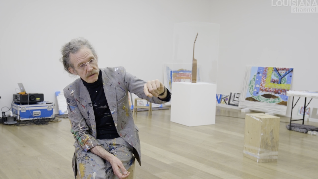 Martin Creed, Screenshot from Hauser & Wirth -  https://bit.ly/2CeR5VQ