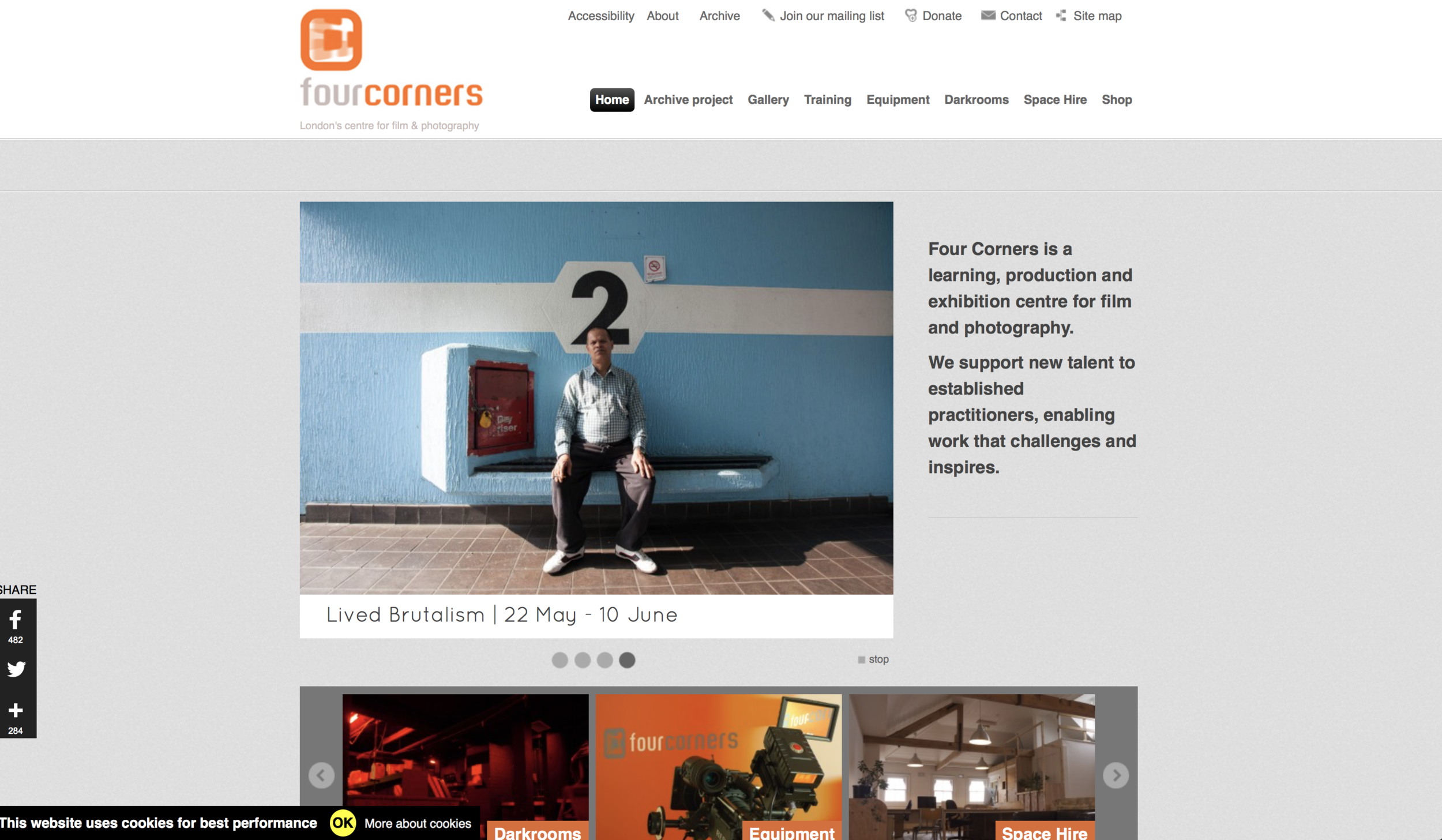 Screenshot: Fourcorners film. - http://www.fourcornersfilm.co.uk/home