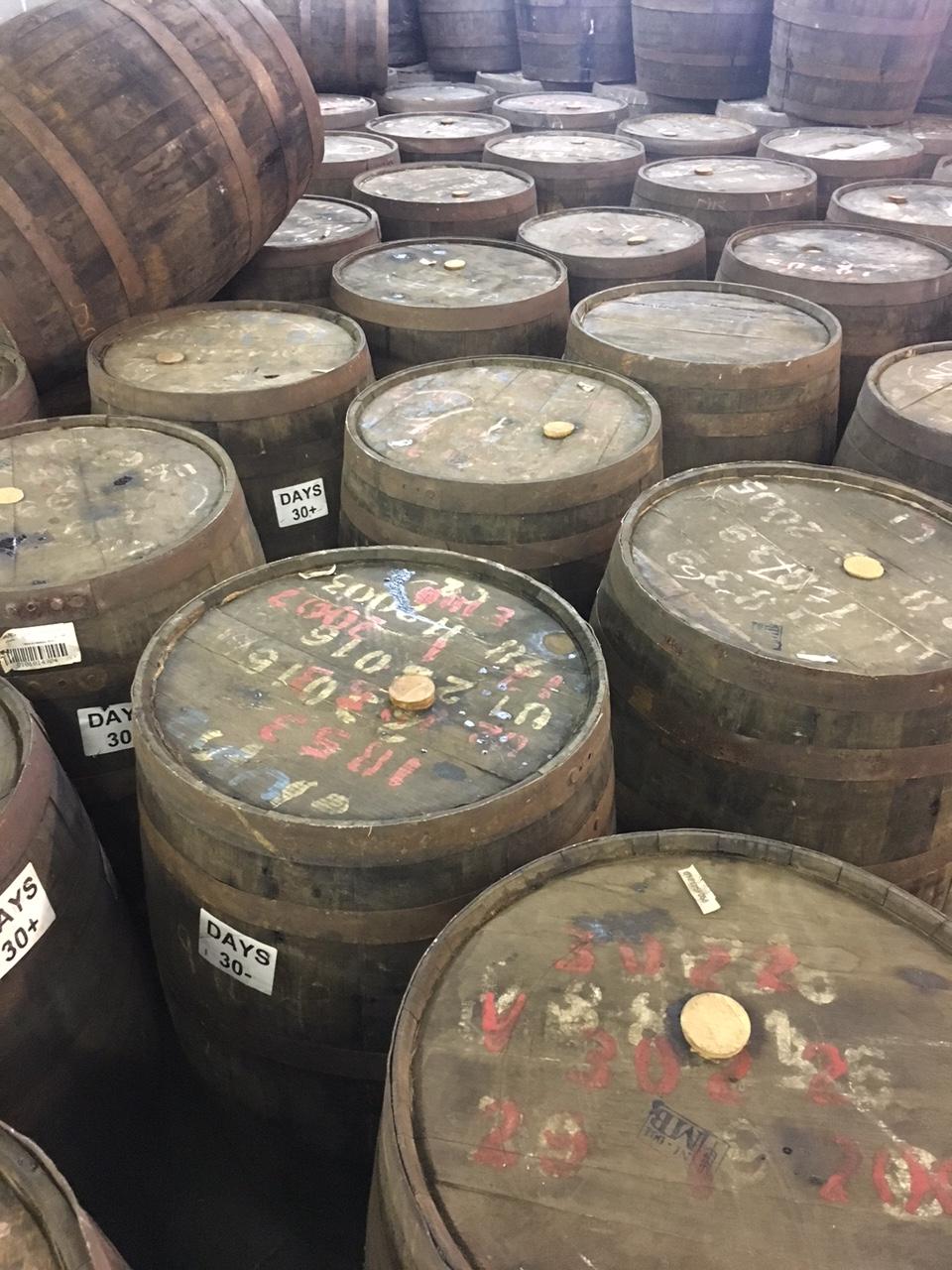 Rum Barrel Inspections