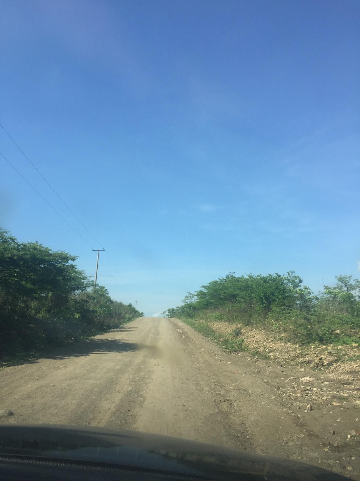 Dirt Roads to Beach