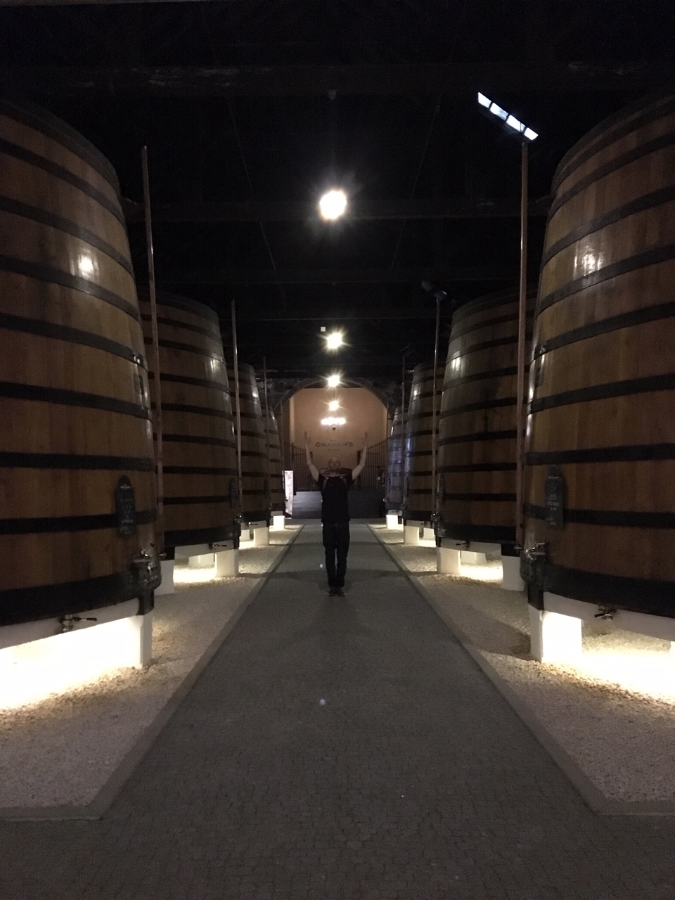 Port Aged in Vats