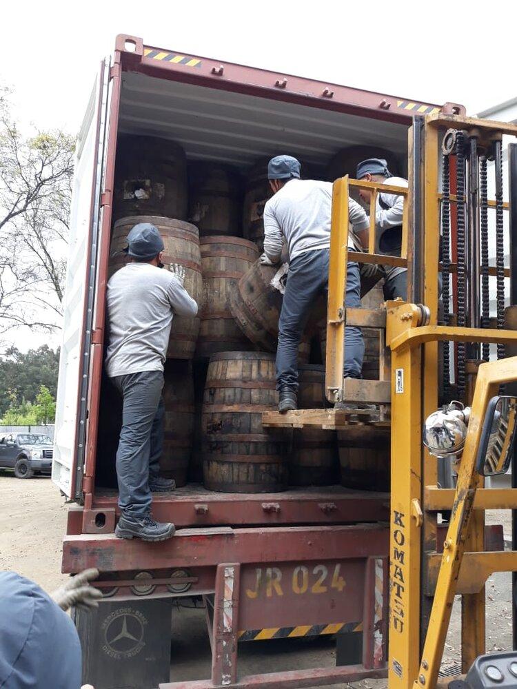 South American Rum Loading