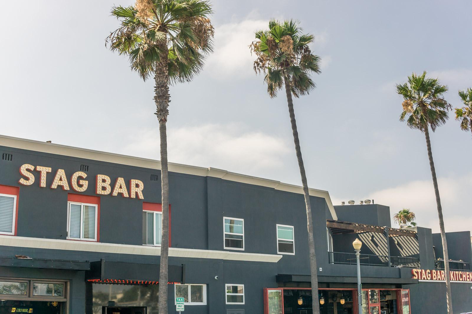 Balboa Peninsula stag bar and restaurantAt Newport Beach pier