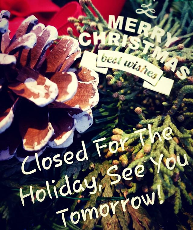 Hem is closed for the holiday. See you all tomorrow!!! 🤗