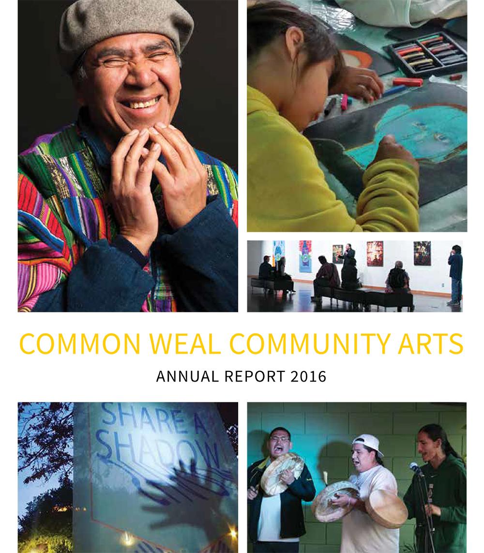 Common Weal Community Arts Annual Report 2016