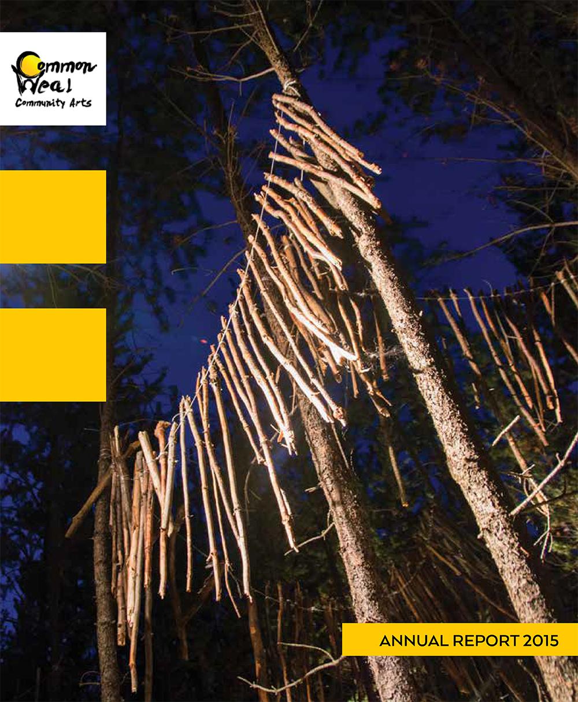 Common Weal Community Arts Annual Report 2015