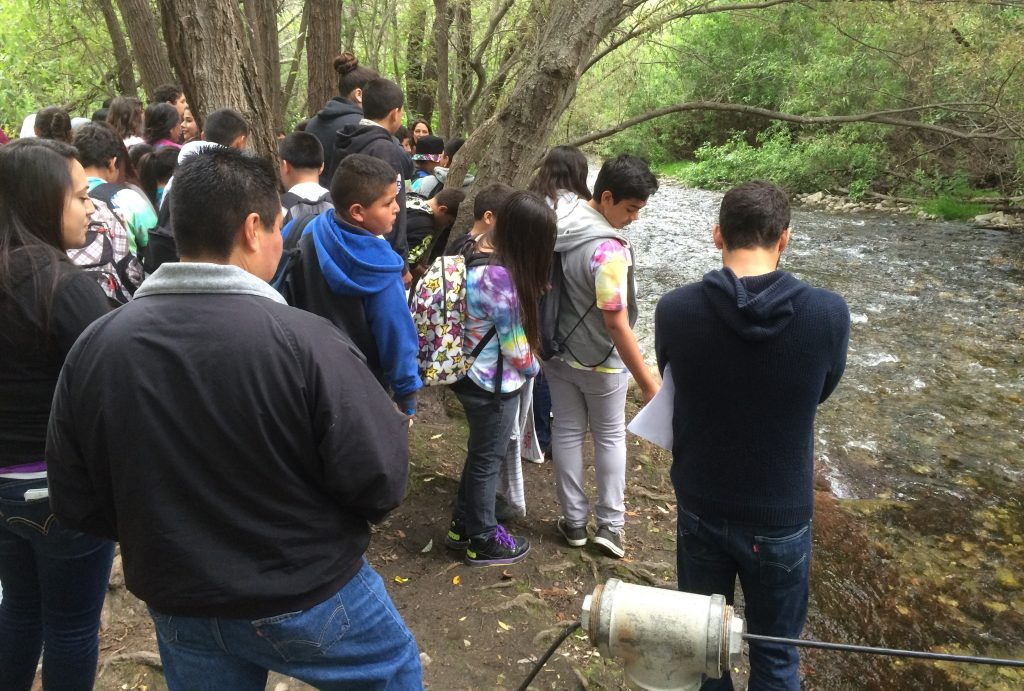 Conducted many public and student watershed tours to encourage better stewardship of our watershed. -