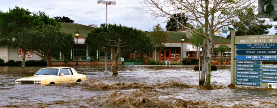 Flooding in the Crossroads area in 1995
