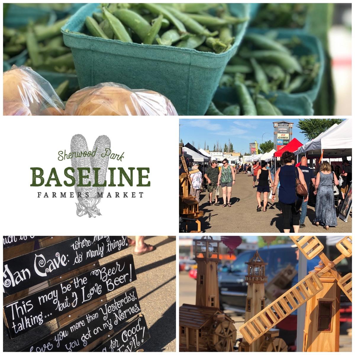 Baseline Farmers Market in Sherwood Park -