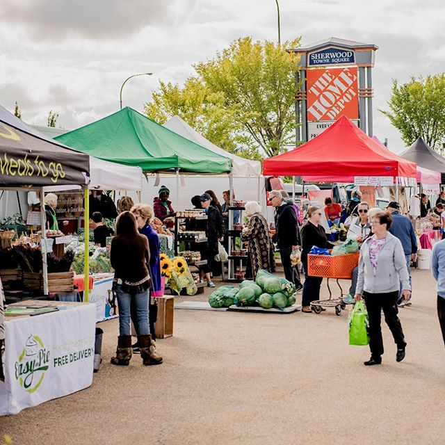 Only 4 markets left this season! Did you have a chance to check out Sherwood Park's favourite outdoor farmers' market yet? We're sure you'll find something you love! _____ Find our awesome vendors set up in the #SherwoodPark Home Depot parking lot – Wednesdays, 4-8pm. . . . . . . . . . . . #baselinefarmersmarket #sherwoodparkmarket #shpk #yegfood #yegeats #yegmoms #yegfamily #yegflowers #yeglocal #familyfunyeg #yegevents #sherwoodpark #shpkkids #shpkmoms #strathconacounty #albertafarmersmarkets #yegfarmersmarket #shoplocaledmonton #shoplocalalberta #albertagrowers #albertabusiness