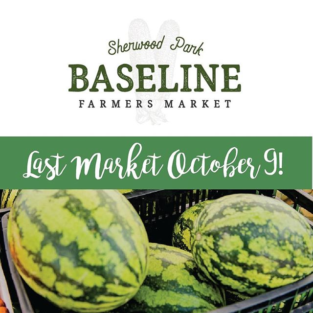 It's the last week that Baseline Farmers' Market #SherwoodPark will be set up in the Home Depot parking lot! Wednesday, Oct. 9, 4-8pm. What do you love most about outdoor farmers' markets?  _____ . . . . . . . . . . #baselinefarmersmarket #sherwoodparkmarket #shpk #yegfood #albertafood #albertafarmers #albertaagriculture #albertaeats #yegeats #yegmoms #yegfamily #yegflowers #yeglocal #familyfunyeg #yegevents #sherwoodpark #shpkkids #shpkmoms #strathconacounty #albertafarmersmarkets #yegfarmersmarket #shoplocaledmonton #shoplocalalberta #albertagrowers #albertabusiness