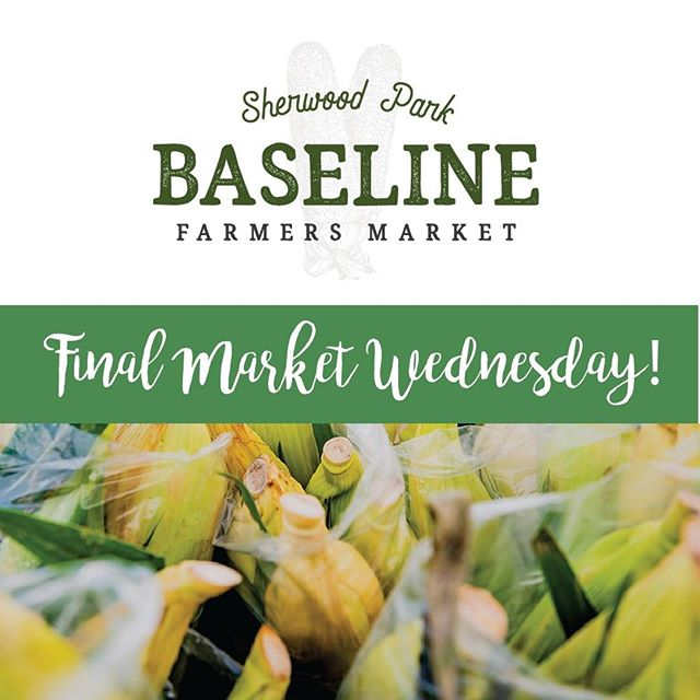 Can't believe that Wednesday is the final market day for Baseline Farmers Market in #sherwoodpark. Last chance to get your favourite products! Come by the market and chat with our vendors to find out where you'll be able to find them throughout the winter months.  We'll be set up in the Home Depot parking lot on Baseline Road on Wednesday, Oct. 9, 4-8pm. _____ . . . . . . . . . . #baselinefarmersmarket #sherwoodparkmarket #shpk #yegfood #albertafood #albertafarmers #albertaagriculture #albertaeats #yegeats #yegmoms #yegfamily #yegflowers #yeglocal #familyfunyeg #yegevents #sherwoodpark #shpkkids #shpkmoms #strathconacounty #albertafarmersmarkets #yegfarmersmarket #shoplocaledmonton #shoplocalalberta #albertagrowers #albertabusiness
