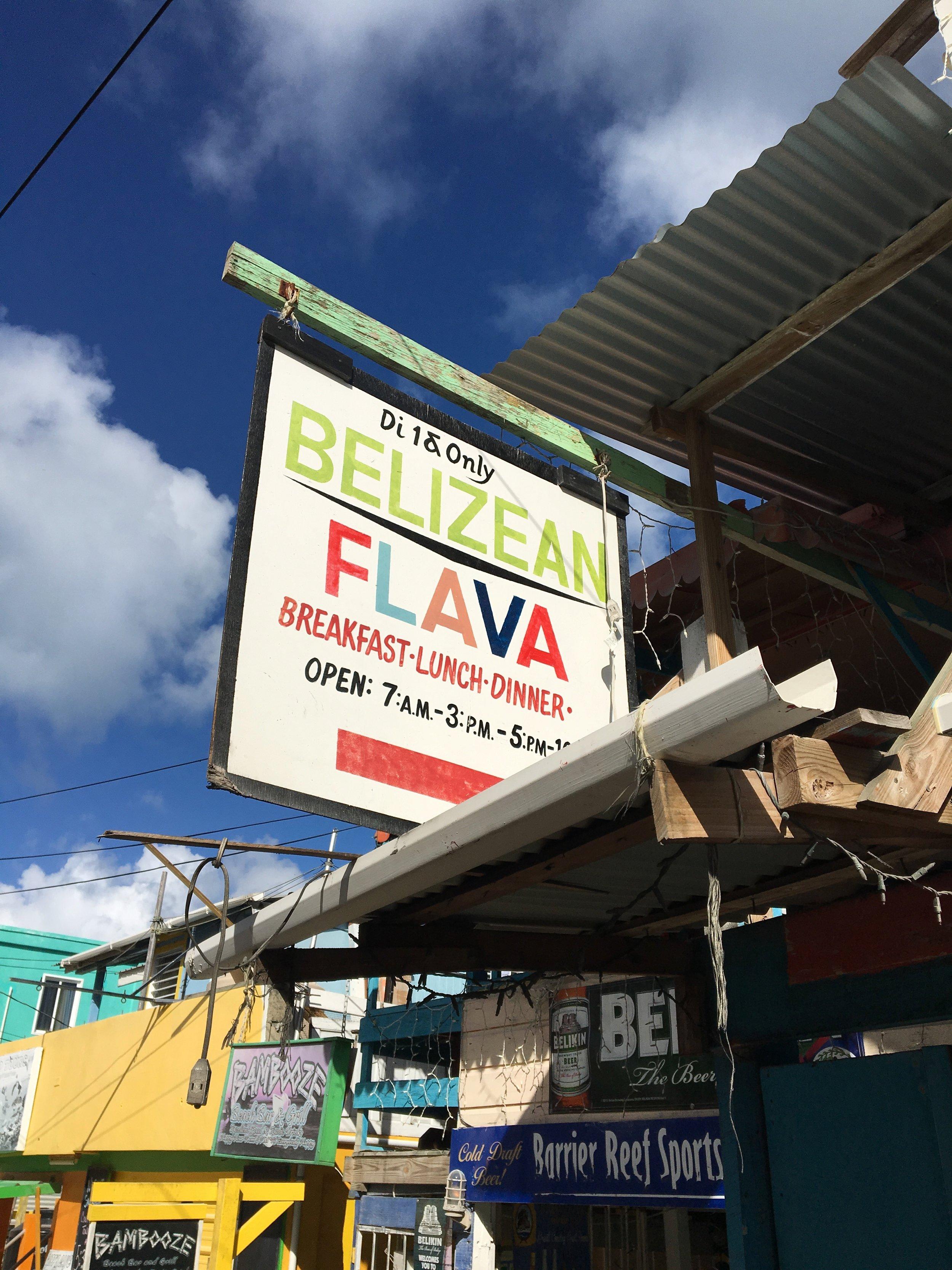 Belizean Flava & Barrier Reef Sports Bar