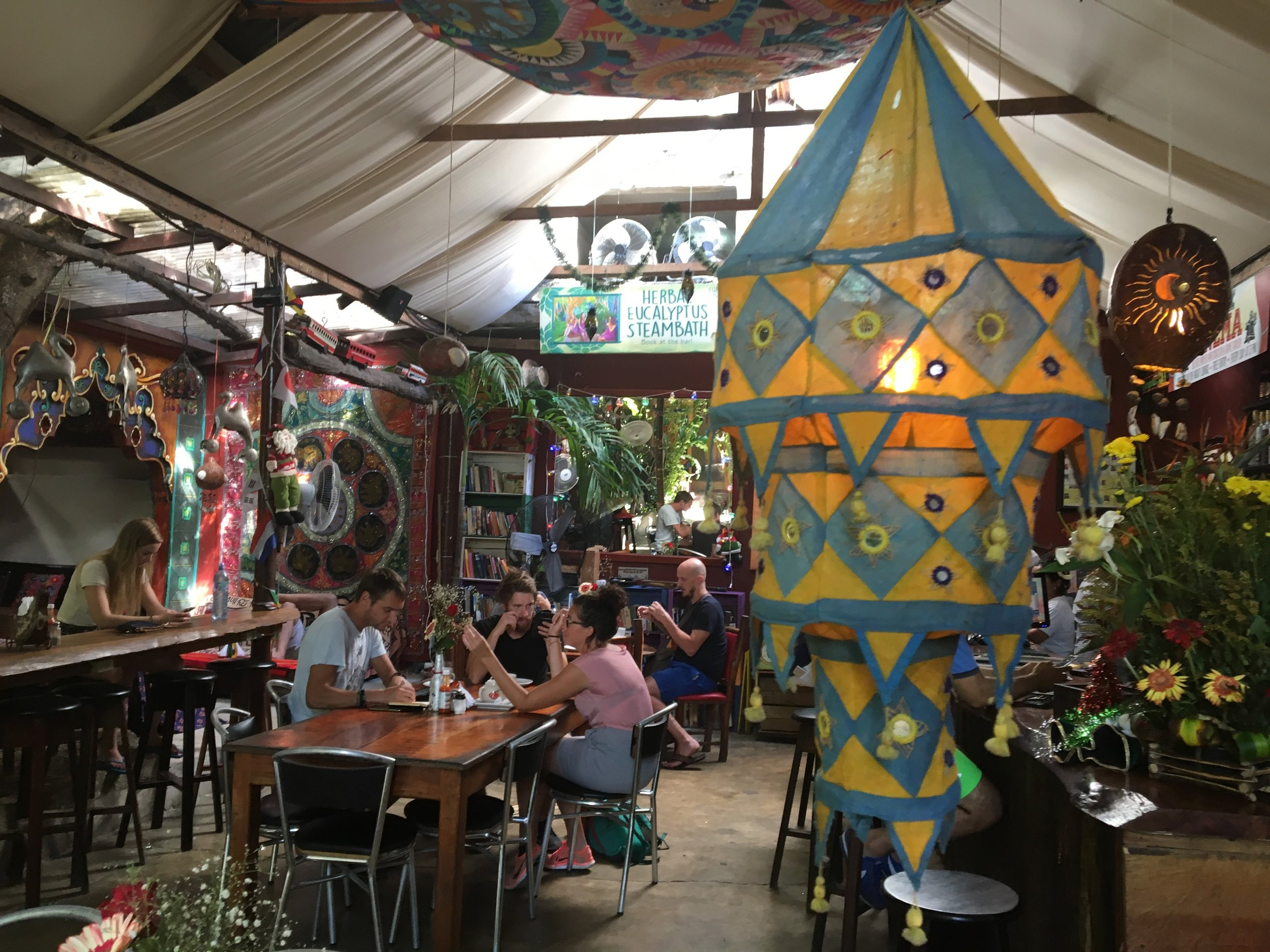 Hostels like Los Amigos in Flores, Guatemala are social without being too insane.