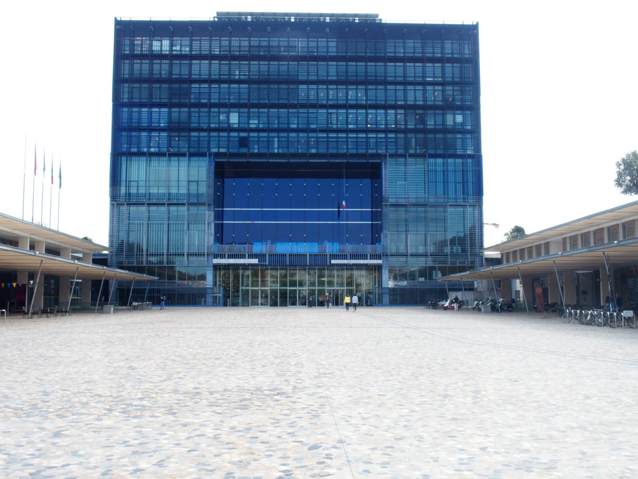 Montpellier's Hôtel de Ville, or city hall