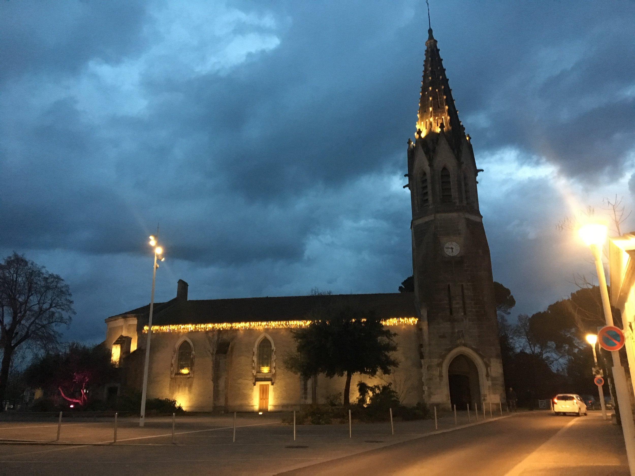 the town church