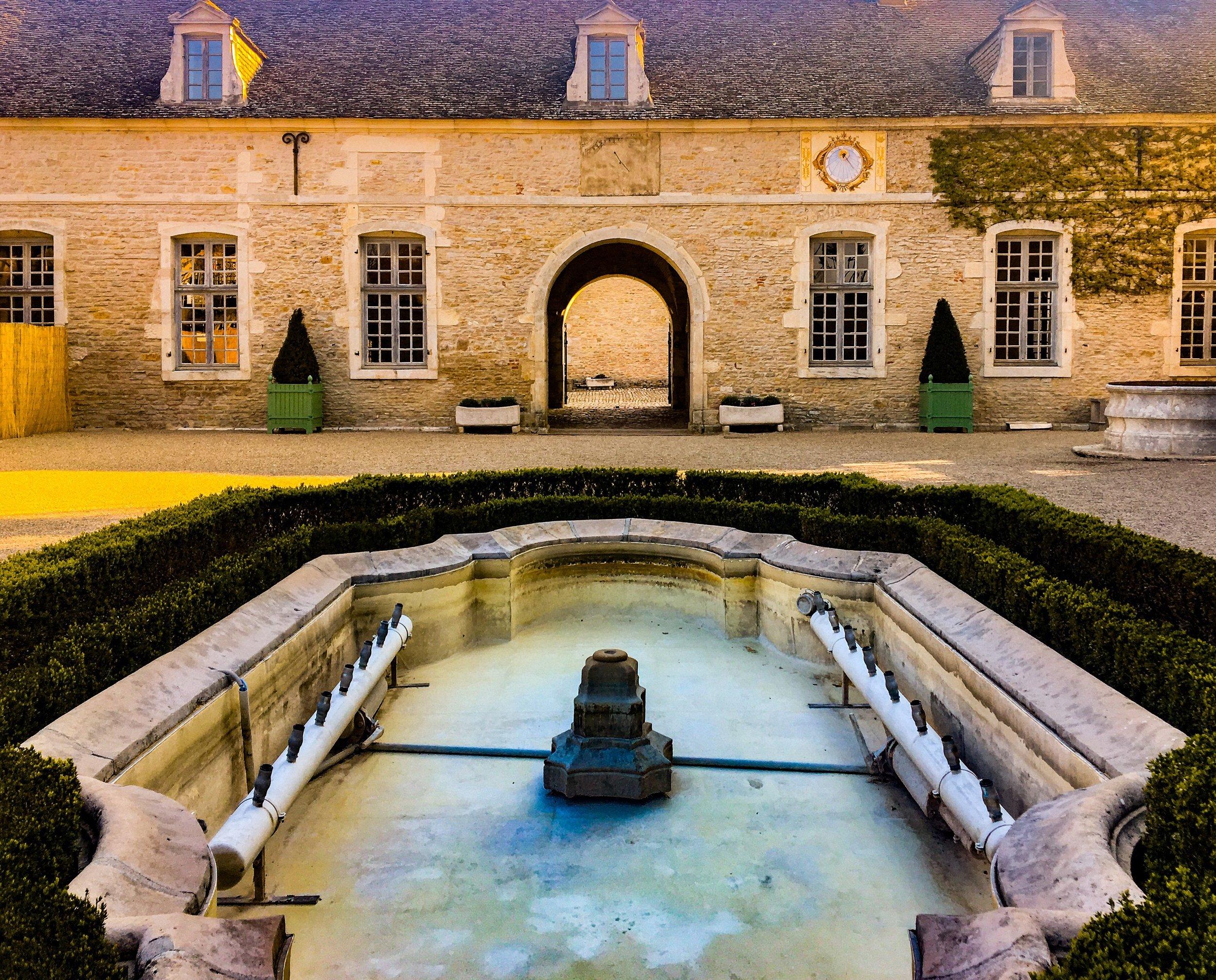 Château de Pommard in the Burgundy region of France