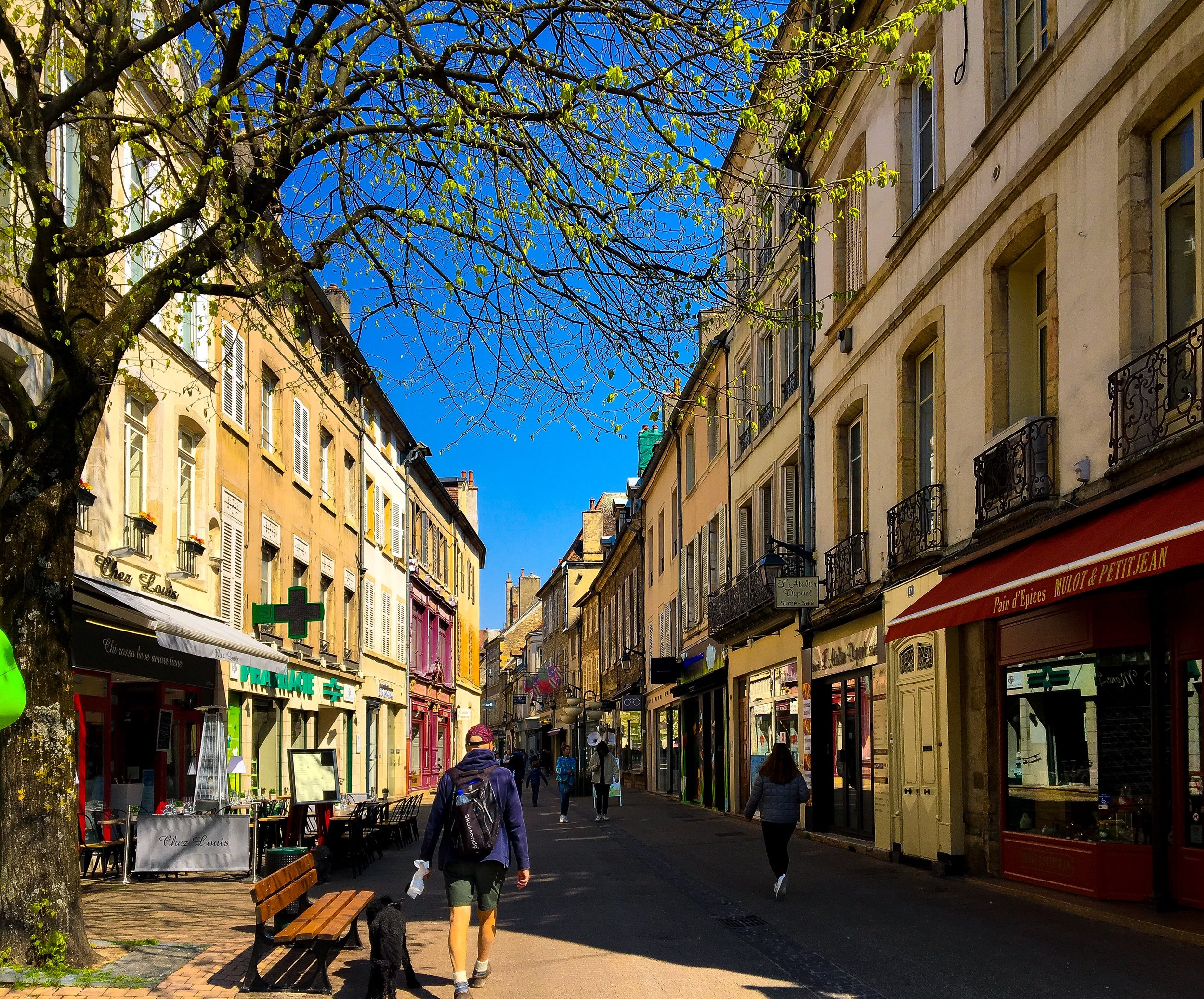 the small city of Beaune