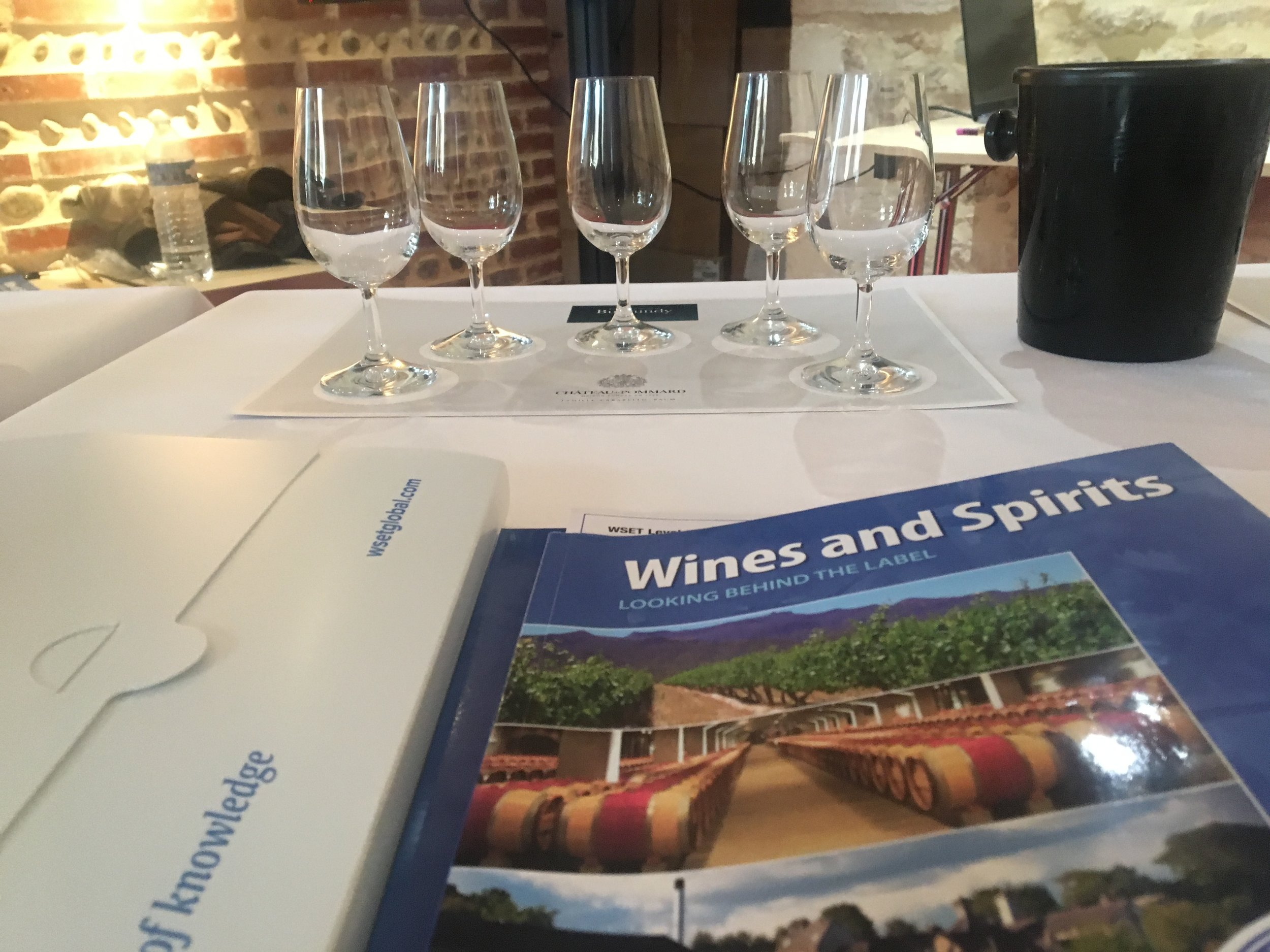 Getting a WSET 2 Certificate in Wine (& Spirits) in France