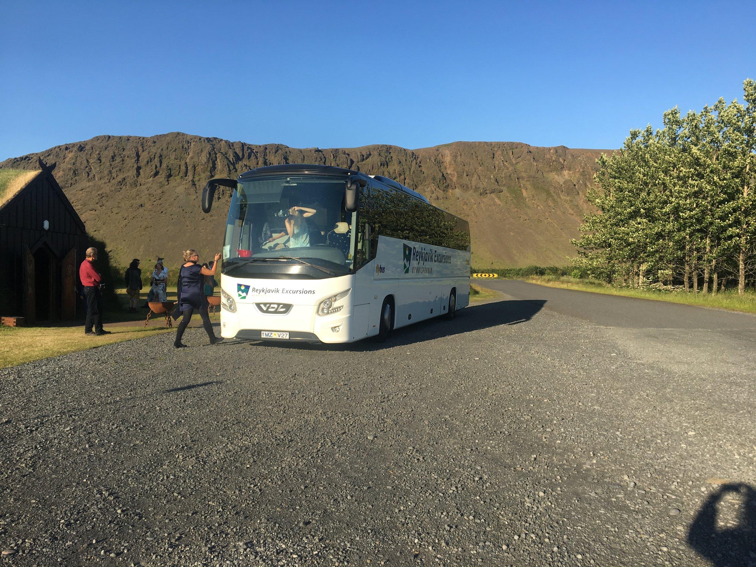 Quality coach bus time