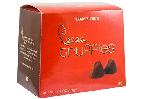 Under $5 - Trader Joe's Cocoa Truffles