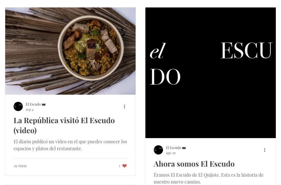 Restaurante El Escudo