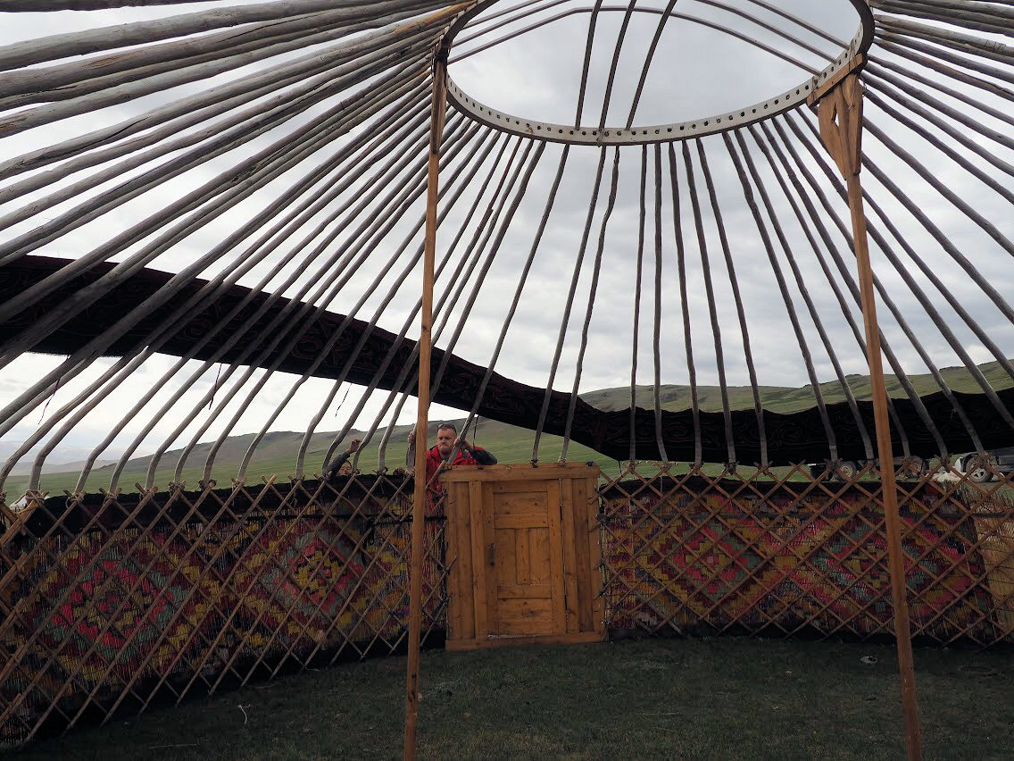 Yurt(ger) setup is simple and easy