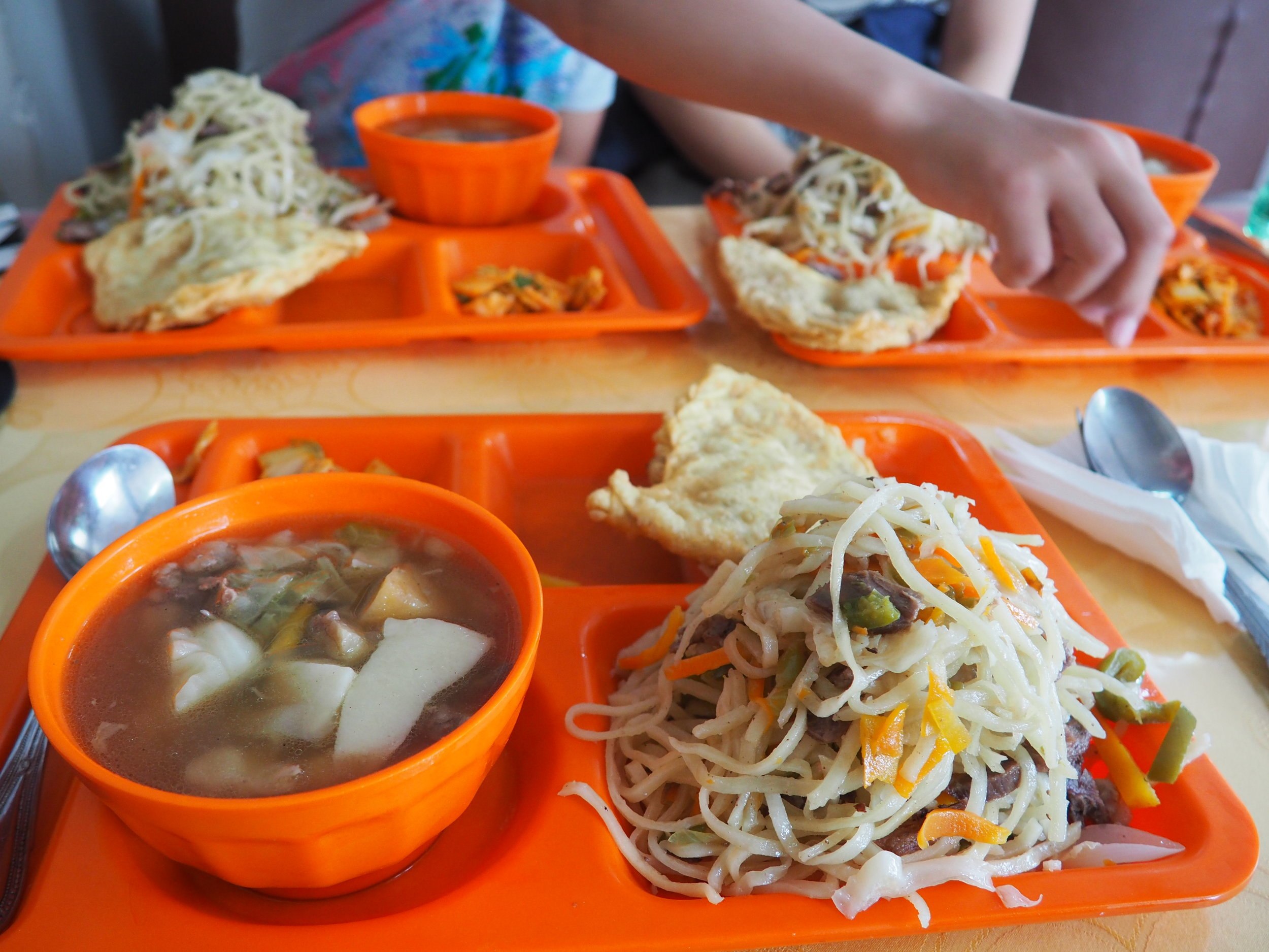 What Mongolian food actually looks like