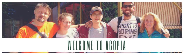 """2011年以来,ACOPIA(亚洲希望营机构)一直集中发展为国际青少年而设立的亚洲希望营。ACOPIA的口号是 """"超越灾害,走向世界,走向未来"""", 并且致力于促进韩国内外的多文化交流以缩短全球青年之间的距离。为了实现此目标,ACOPIA一直与多家机构保持着合作关系。"""