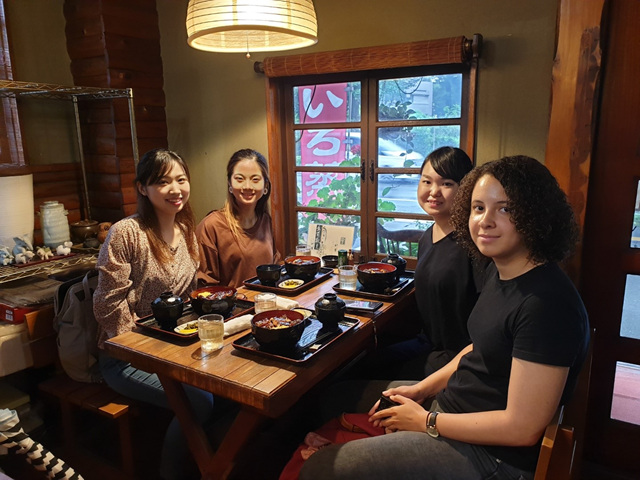 Find here all the activities that can be done as an intern in the Japan Internship Program through articles and videos made by our intern Pauline! - The articles can be read in french (her native language) or in english.She was in Kumamoto until August 9, 2019.