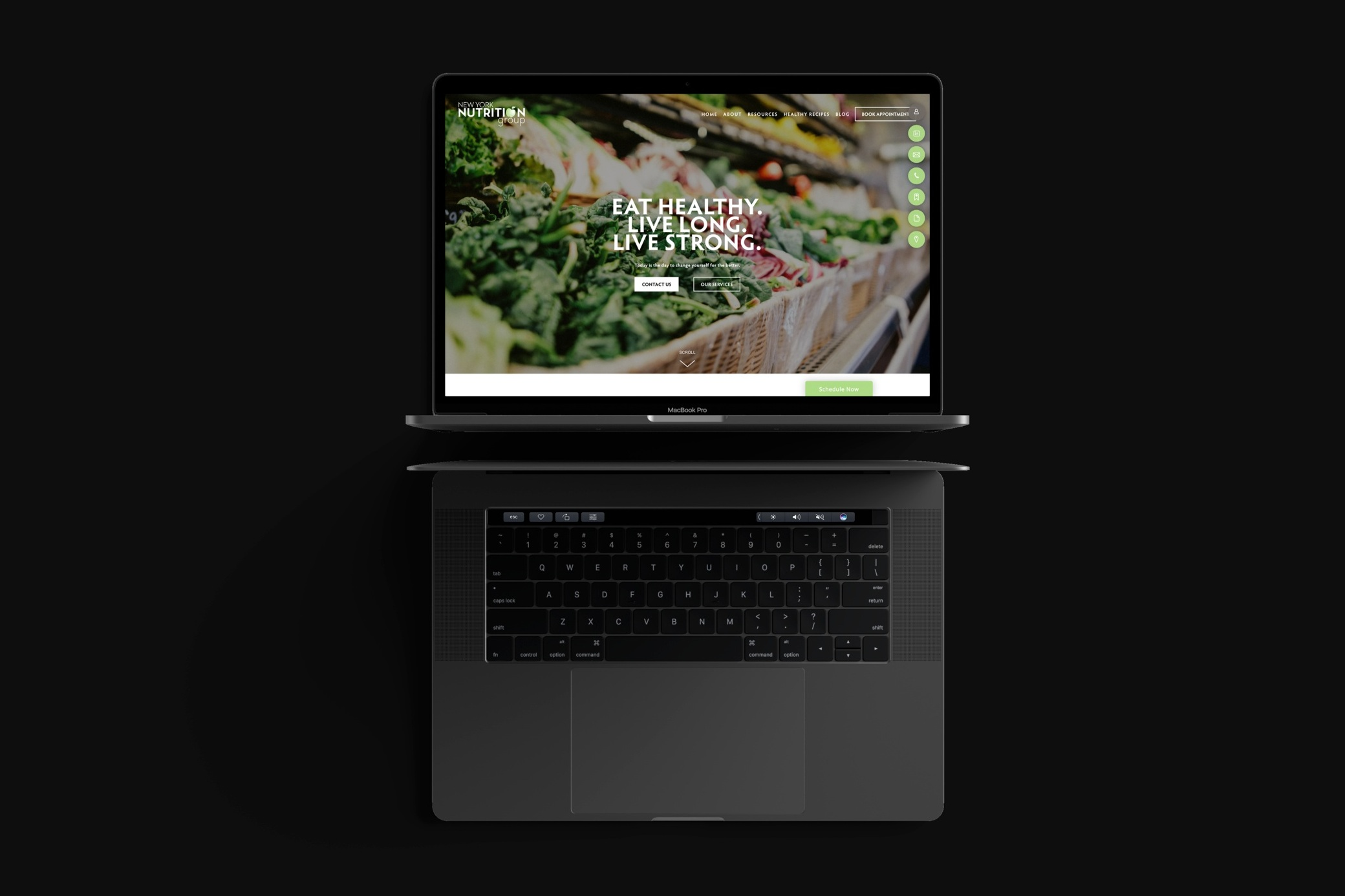 New York Nutrition Group - Advocating for healthy living with this clean and robust Squarespace website solution