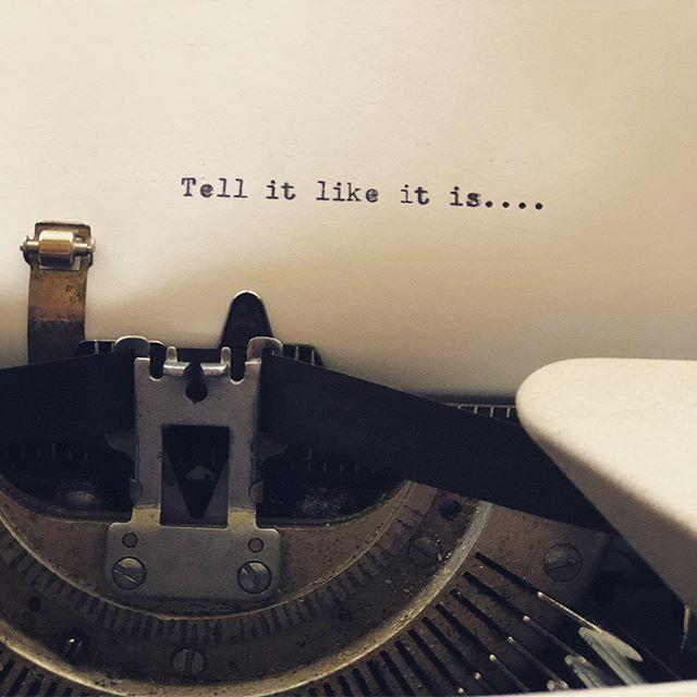 This weekend's prompt. @mclibman1 . #girlsweekend #vacationrental #stockholmwisconsin #visitpepin #adubestay #typewriter
