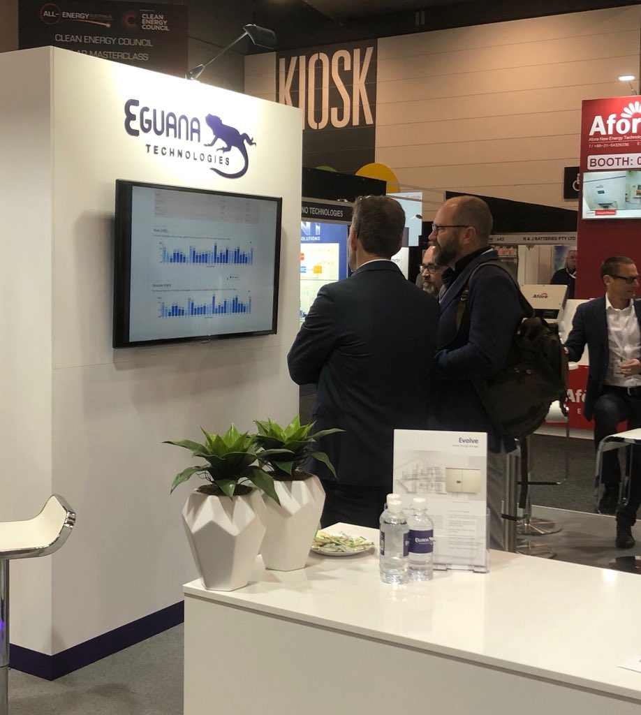 SwitchDin CEO Dr Andrew Mears gives a tour of the Eguana Evolve battery (powered by SwitchDin).