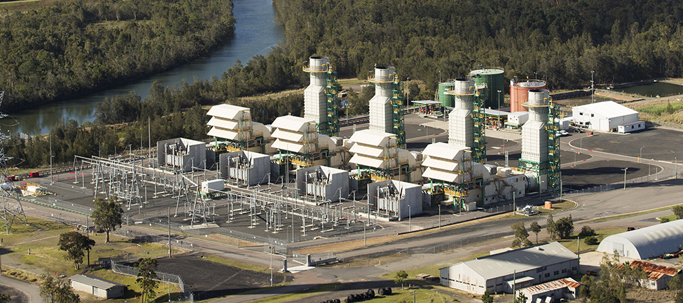 Eraring Power Station is Australia's largest power plant at 2.8GW capacity. (Image via  SnowyHydro .)