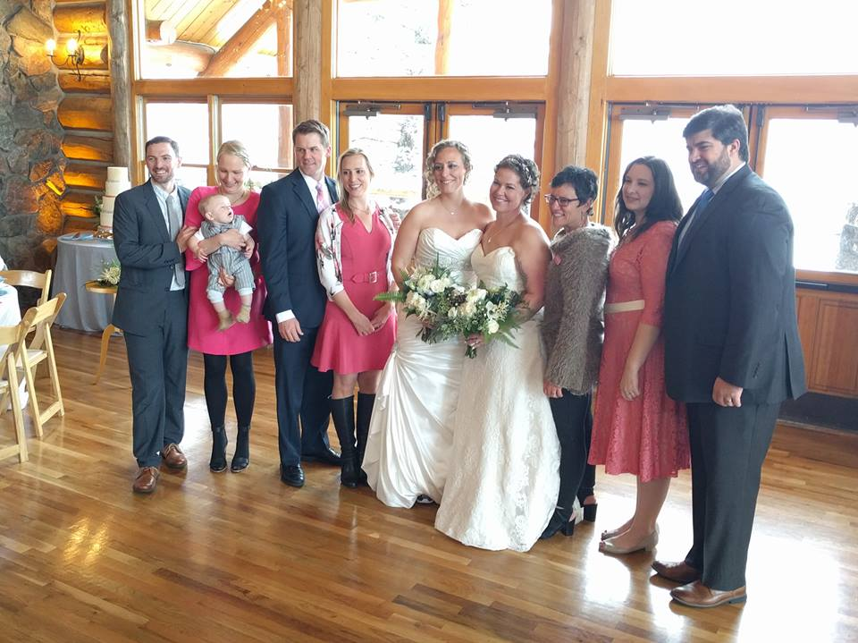 Members of the Board attend the 2017 Wedding Pink