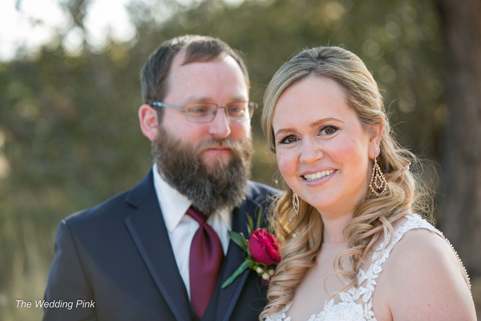Liz and Lee, the recipients of The Wedding Pink 2018
