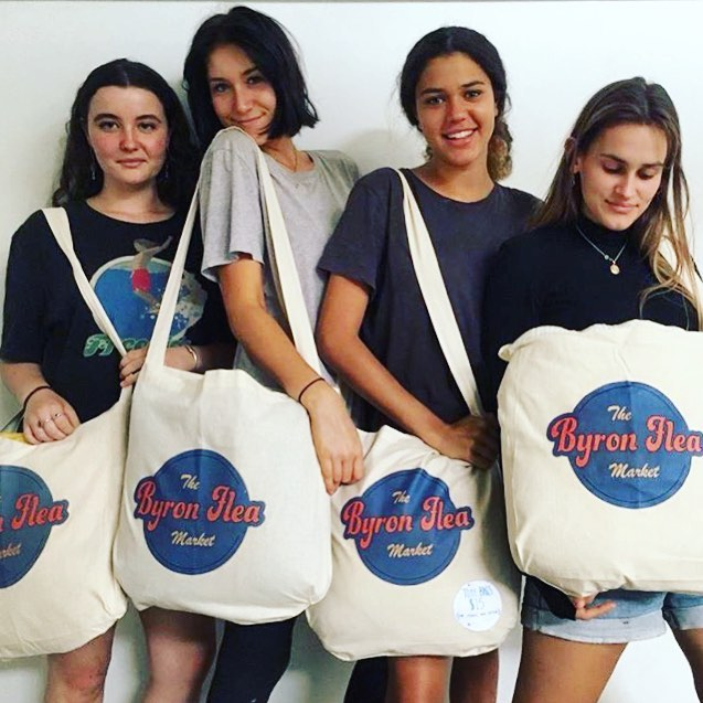 BUY A TOTE BAG BELOW... GET A FREE COFFEE @ the Flea... -