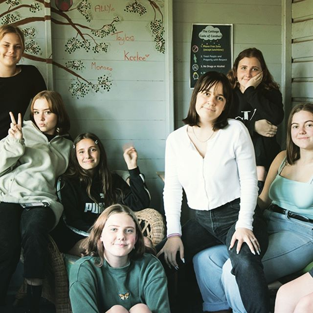 How we roll at Mullum young Women's group.  #chilling #youngpeoplematter photo by @deborah.pearse