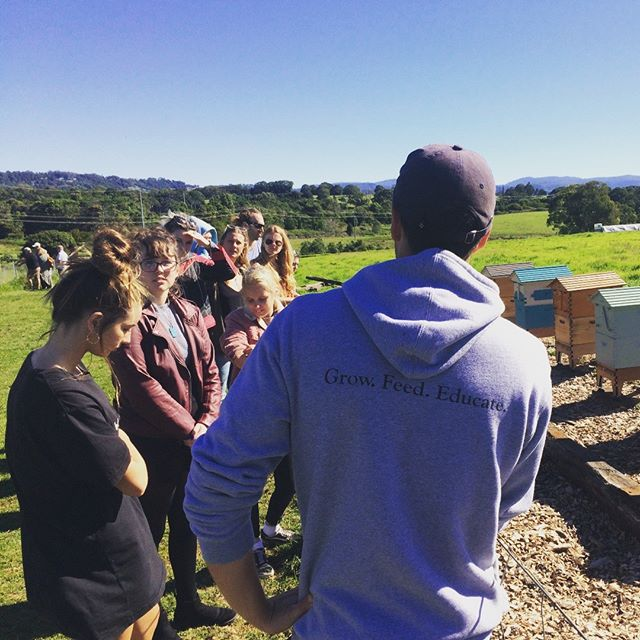 We learnt so much when we took our girls' group to @thefarmatbyronbay.  We are so grateful for the opportunity to tour such an iconic and progressive business and expand the possibilities in the minds of our youth!  Thank you #blessed #youngpeoplematter #organicfarming #ethicalbusiness