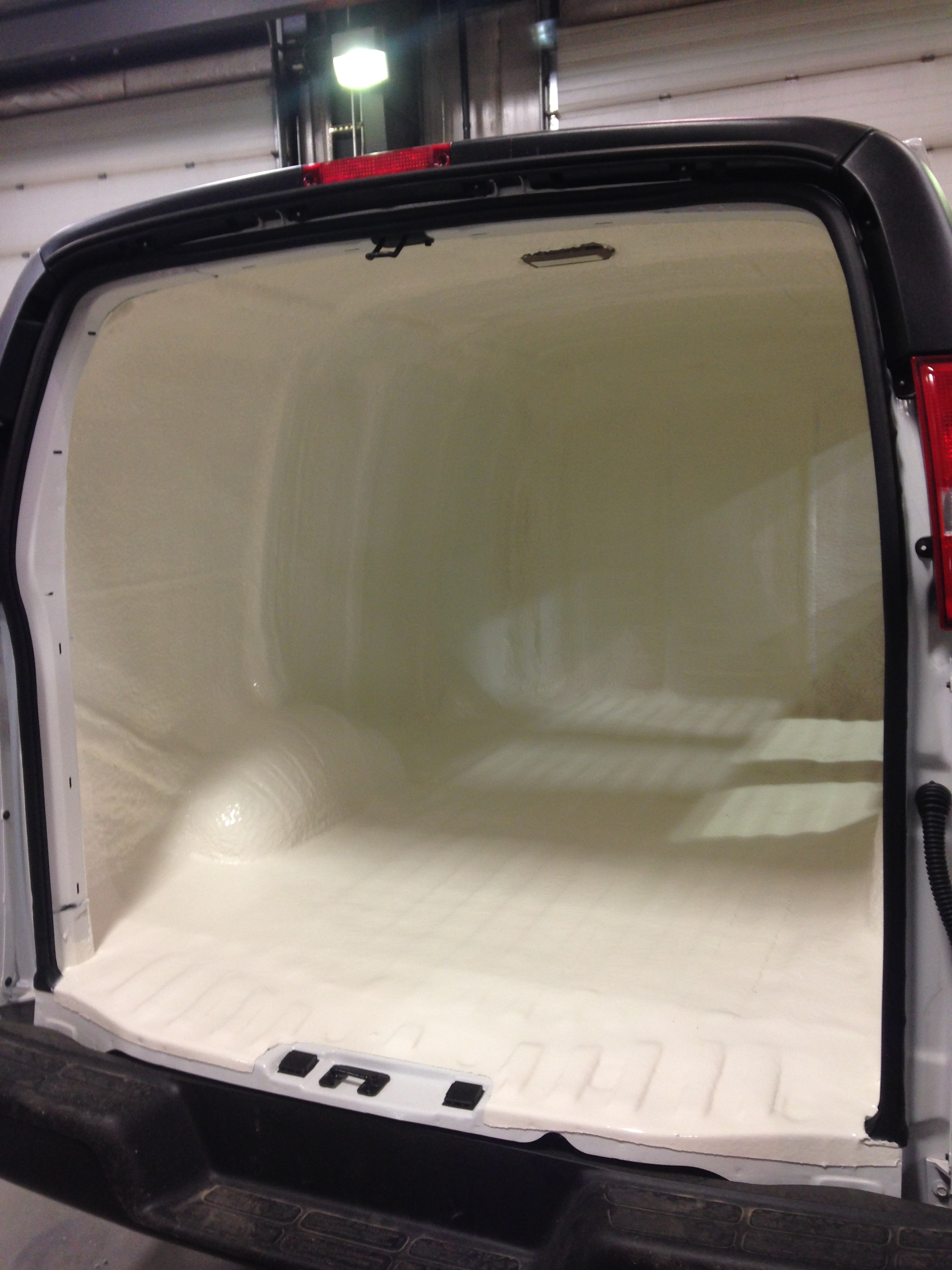 Industrial van polyshield coating