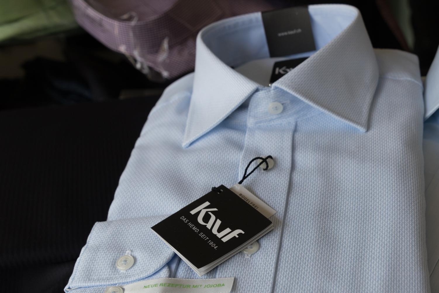 Kauf - das bügelfreie Hemd.