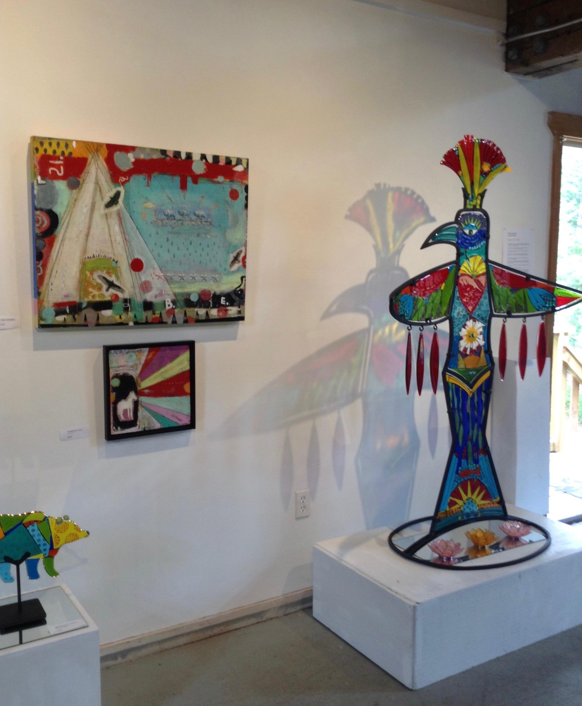 19. Glass and paintings in situ.jpg
