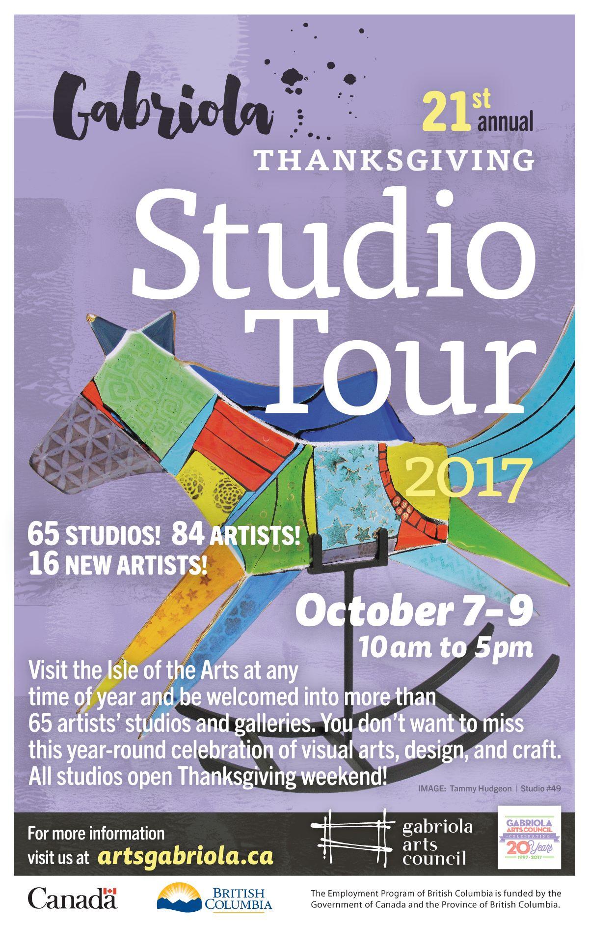 Gabriola Studio Tour