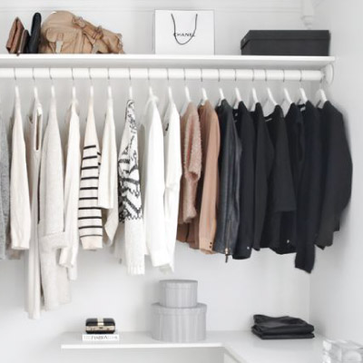 Expansive closets for your clothing and storage.
